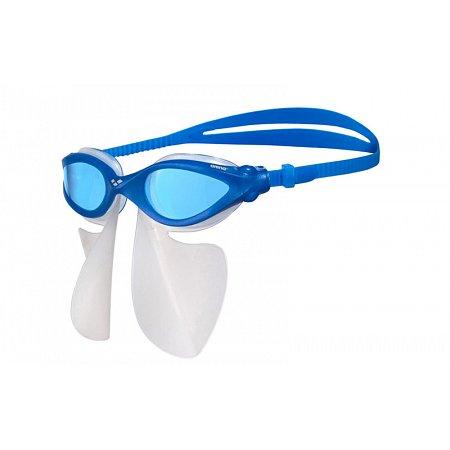 Очки для плавания ARENA с рассекателем AR-1E011-57 FS BREATHER KIT (поликарбон, TPR,силикон, синий-серый)