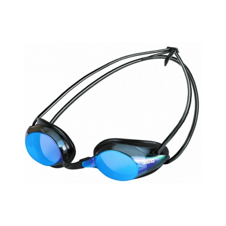 Очки для плавания ARENA стартовые AR-92356-57 PURE MIRROR UNISEX (поликарбонат, TPR, силикон, синий) БРАК