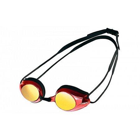Очки для плавания ARENA стартовые AR-92370-48 TRACKS MIRROR UNISEX (поликарбонат,TPR, силикон, черно-кр)