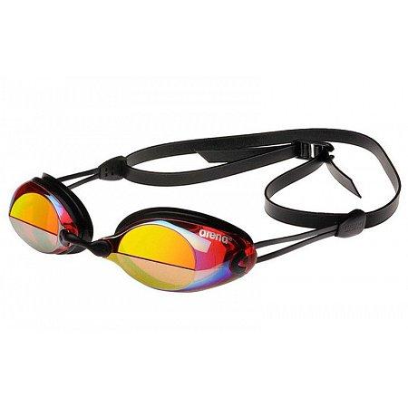 Очки для плавания ARENA стартовые AR-92372-43 X-VISION MIRROR (поликарбонат, TPR, силикон, красн-желт-чер)