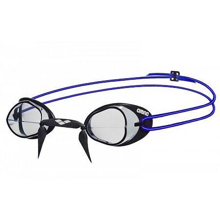 Очки для плавания ARENA стартовые AR-92398-17 SWEDIX (поликарбонат, TPR, резина, серый-голубой)