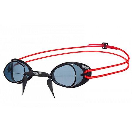 Очки для плавания ARENA стартовые AR-92398-54 SWEDIX (поликарбонат, TPR, резина, серый-красный-черный)