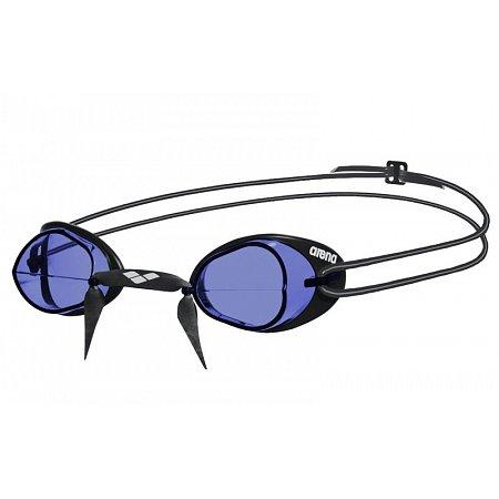 Очки для плавания ARENA стартовые AR-92398-75 SWEDIX (поликарбонат, TPR, резина, голубой-черный)