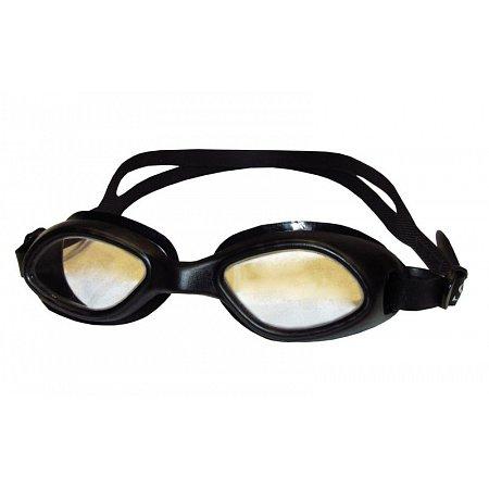 Очки для плавания детские SEALS 3110 (пластик, силикон, черные)