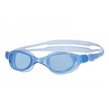 Очки для плавания детские SPEEDO 8090108420 FUTURA PLUS JR (поликарбонат, силикон, голубые)