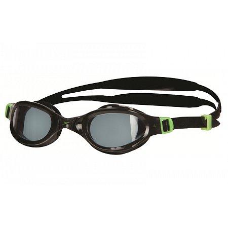 Очки для плавания детские SPEEDO 8090109313 FUTURA PLUS JR (поликарбонат, силикон, черно-зеленые)