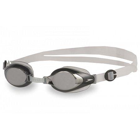 Очки для плавания детские SPEEDO 8093014556 MARINER MIRROR JR (полипропилен, CP, TPR, силикон,сереб)