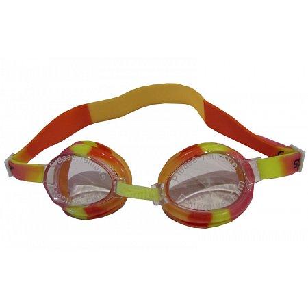 Очки для плавания детские SPEEDO 8700740000 MARINER JR (поликарбонат, TPR, силикон,оранжево-красные)