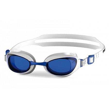 Очки для плавания SPEEDO 8090027960 AQUAPURE (поликарбонат, TPR, силикон, бело-голубые)