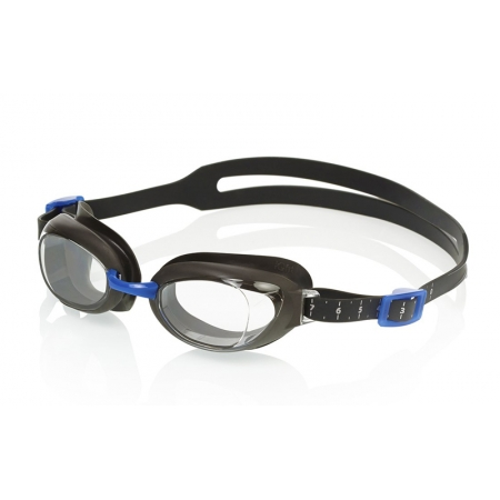 Очки для плавания SPEEDO 8090029123 AQUAPURE (поликарбонат, TPR, силикон, черные)