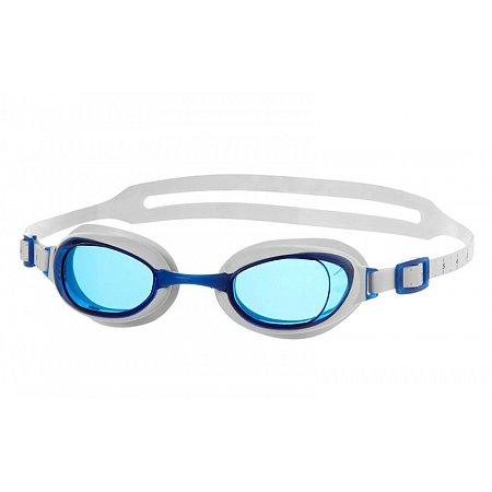 Очки для плавания SPEEDO 8090044284 AQUAPURE FEMALE (поликарбонат, TPR, силикон, бело-синие)