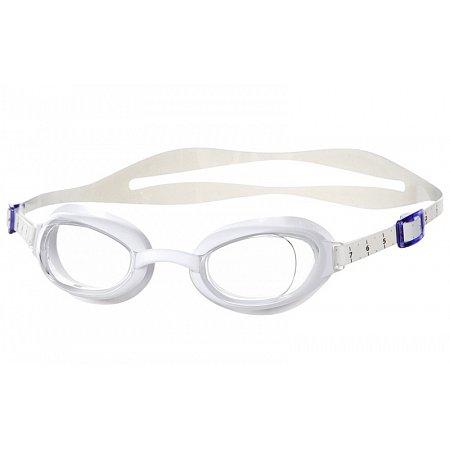 Очки для плавания SPEEDO 8090047237 AQUAPURE FEMALE (поликарбонат, TPR, силикон, белые)