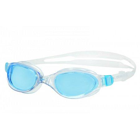 Очки для плавания SPEEDO 8090093537 FUTURA PLUS (поликарбонат, TPR, силикон, бело-голубые)