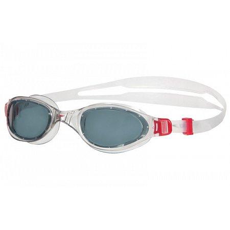 Очки для плавания SPEEDO 8090093557 FUTURA PLUS (поликарбонат, TPR, силикон, бело-дымчатые)