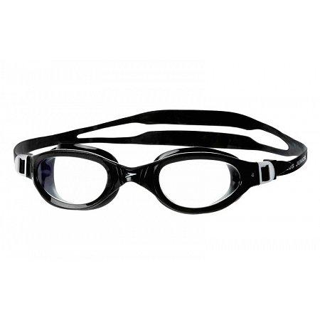 Очки для плавания SPEEDO 8090098913 FUTURA PLUS (поликарбонат, TPR, силикон, черные)