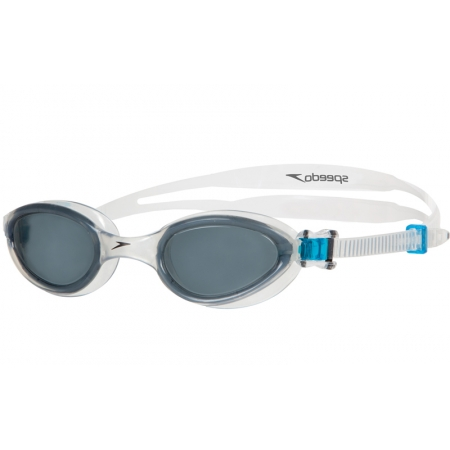 Очки для плавания SPEEDO 8090130489 FUTURA ONE (поликарбонат, силикон, прозрачно-дымчатые)