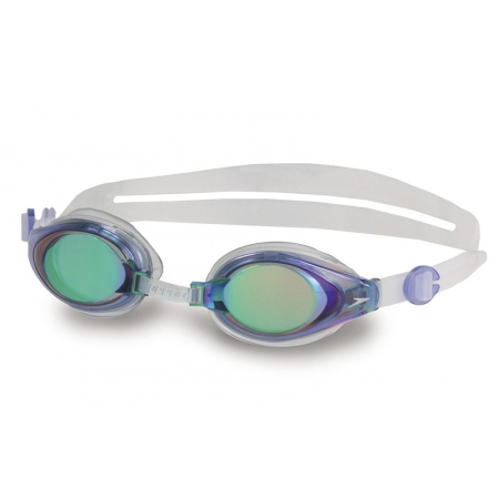 Очки для плавания SPEEDO 8093003540 MARINER MIRROR (поликарбонат, TPR, силикон, сине-прозрачные)