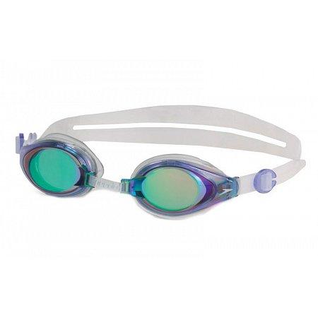 Очки для плавания SPEEDO 8706013081 MARINER (поликарбонат, TPR, силикон, бело-фиолетовый)