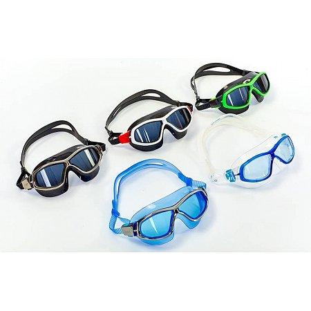 Очки (полумаска) для плавания AR-92363-12 ORBIT UNISEX (поликарбонат, TPR, силикон, бело-серые)