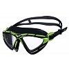 Очки (полумаска) для плавания ARENA AR-1E091-65 X-SIGHT 2 (поликарбонат, TPR, силикон, черный-зеленый)