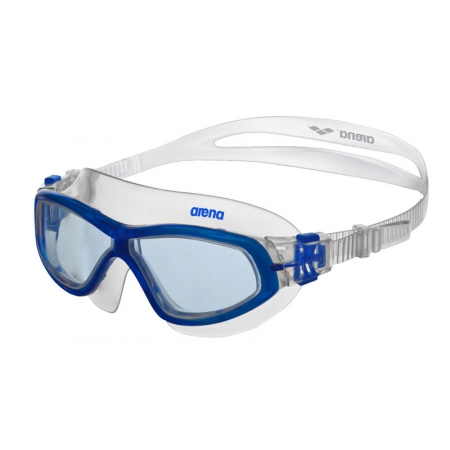 Очки (полумаска) для плавания ARENA AR-92363-11 ORBIT UNISEX (поликарбонат, TPR, силикон, голубой)