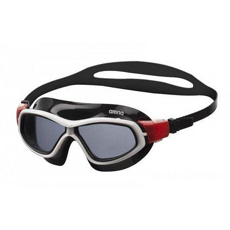 Очки (полумаска) для плавания ARENA AR-92363-54 ORBIT UNISEX (поликарбонат, TPR,силикон, серый-красн-черн)