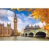 Осенний Лондон, серия Городской пейзаж, рисование по номерам, 40 х 50 см, Идейка, Осенний Лондон (KH2134)