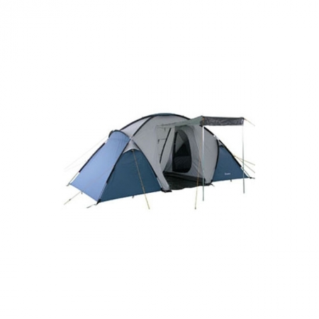 Палатка KingCamp Bari 4 (KT3030) Grey/Blue (мест: 4)