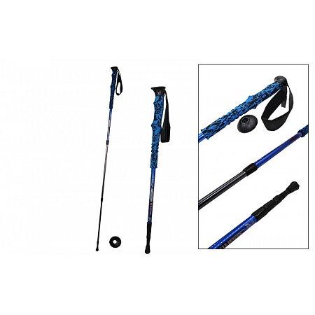 Палка треккинговая (для скандинавской ходьбы) (1шт) TY-7075 SALAMAN K-2 (deral7075,3сл, l-55-135см)