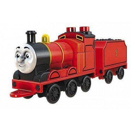 Паровоз Джеймс с прицепом Thomas & Friends, Mattel, Джеймс, BHX25-10