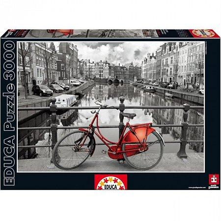 Пазл EDUCA Амстердам 3000 элементов (EDU-16018)
