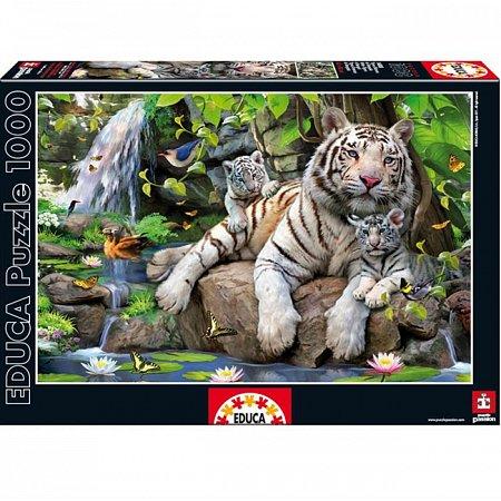 Пазл EDUCA Белий бенгальский тигр 1000 элементов (EDU-14808)