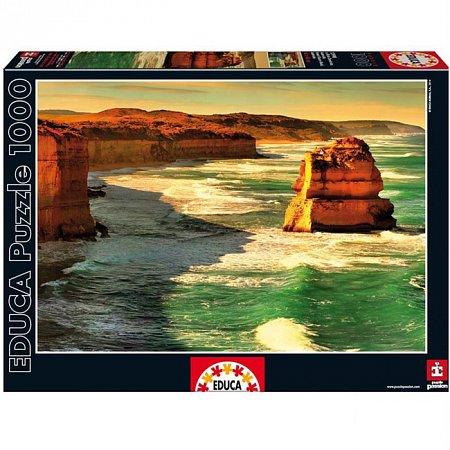Пазл EDUCA Большой океанский путь, Австралия 1000 элементов (EDU-15990)