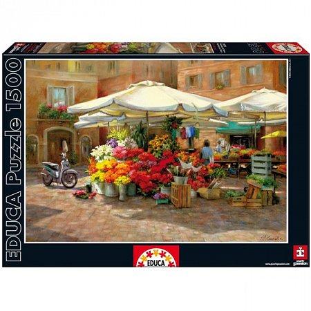 Пазл EDUCA Цветочный рынок 1500 элементов (EDU-16010)
