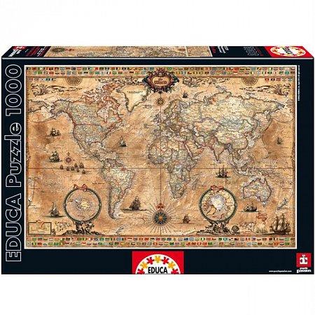 Пазл EDUCA Карта античного мира 1000 элементов (EDU-15159)