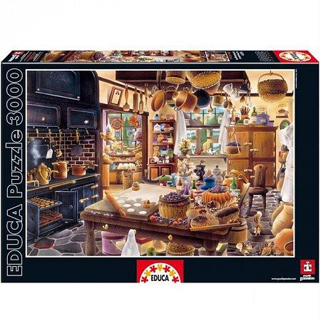 Пазл EDUCA Пекарня 3000 элементов (EDU-16319)