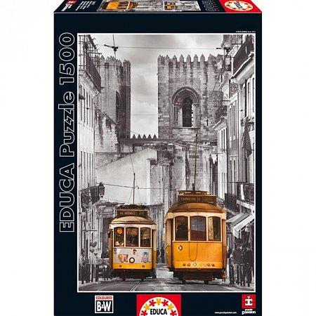 Пазл EDUCA Район Алфама, Лиссабон 1500 элементов (EDU-16311)