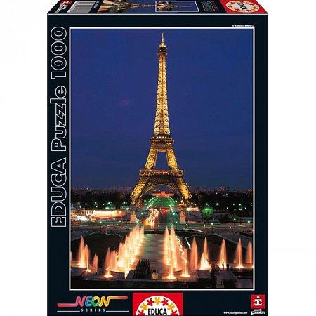 Пазл EDUCA светящийся Эйфелева башня, Париж 1000 элементов (EDU-10114)