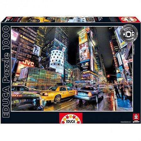 Пазл EDUCA Таймс-сквер, Нью-Йорк 1000 элементов (EDU-15525)