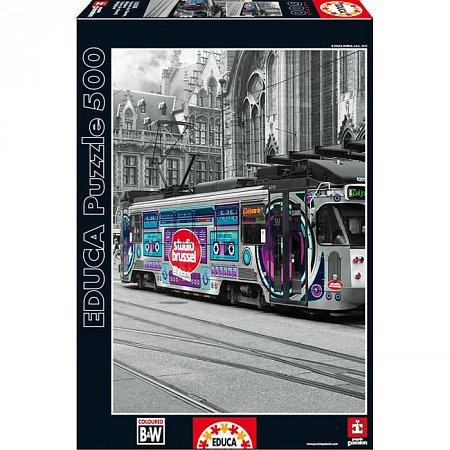 Пазл EDUCA Трамвай в Генти 500 элементов (EDU-16358)