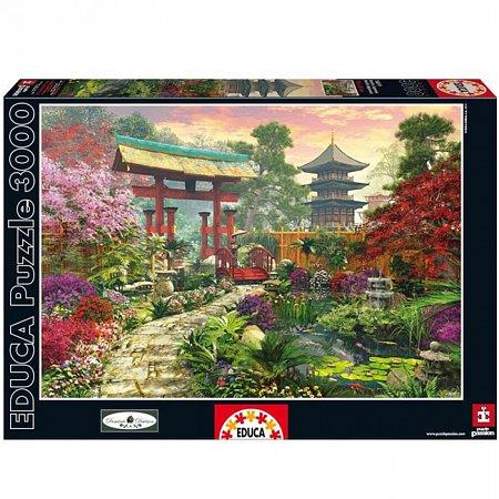 Пазл EDUCA Японский сад 3000 элементов (EDU-16019)