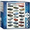 Пазл Eurographics Американские автомобили 1950х, 300 элементов (8300-3870)