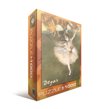 Пазл Eurographics Балерина Эдгар Дега, 1000 элементов (6000-2033)