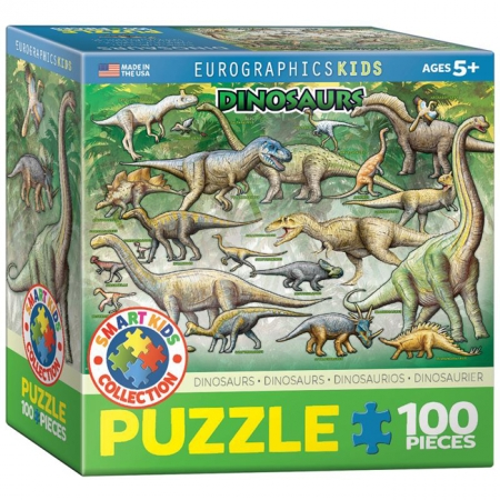 Пазл Eurographics Динозавры №1, 100 элементов (8100-0098)