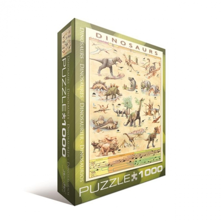 Пазл Eurographics Динозавры, 1000 элементов (6000-1005)