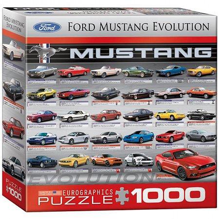Пазл Eurographics Эволюция Форд, 1000 элементов (8000-0684)
