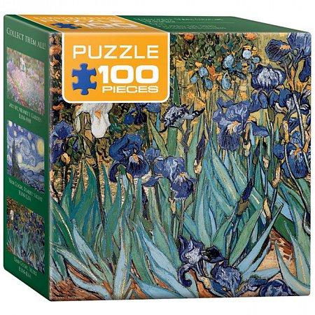 Пазл Eurographics Ирисы Винсент ван Гог, 100 элементов (8104-4364)