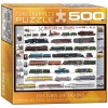 Пазл Eurographics История поездов, 500 элементов (8500-0251)