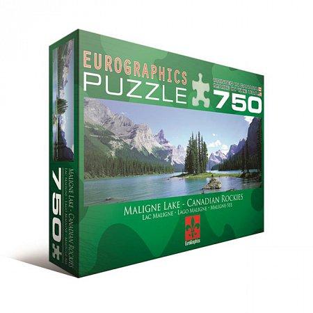 Пазл Eurographics Канадские Скалистые горы, озеро Малайн, 750 элементов (6005-1418)