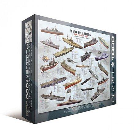 Пазл Eurographics Корабли 2-й Мровой войны, 1000 элементов (6000-0133)
